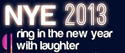 RING in the NEW YEAR with LAUGHTER!  Join Comedy Works for a NEW YEARS EVE EXTRAVAGANZA. We have three special shows at both locations (Downtown Denver and South Denver) including PARTY BAGS, CELEBRATION, and a MIDNIGHT CAMPAIGN TOAST!  Make this NEW YEARS EVE one to REMEMBER!