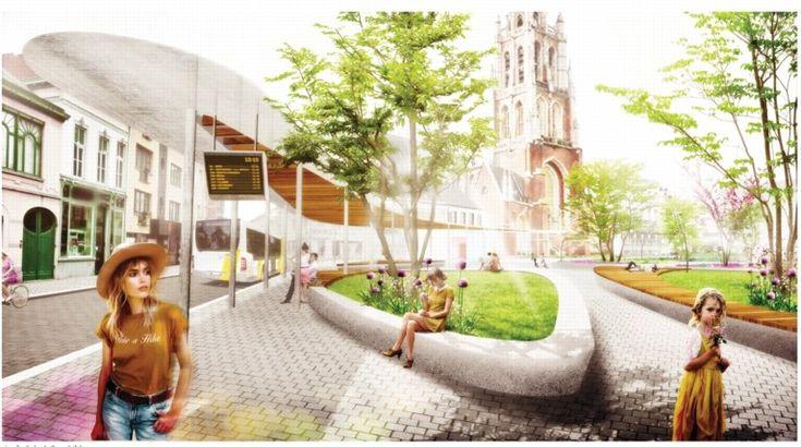 Zo zal het Esplanadeplein er vanaf 2020 uitzien