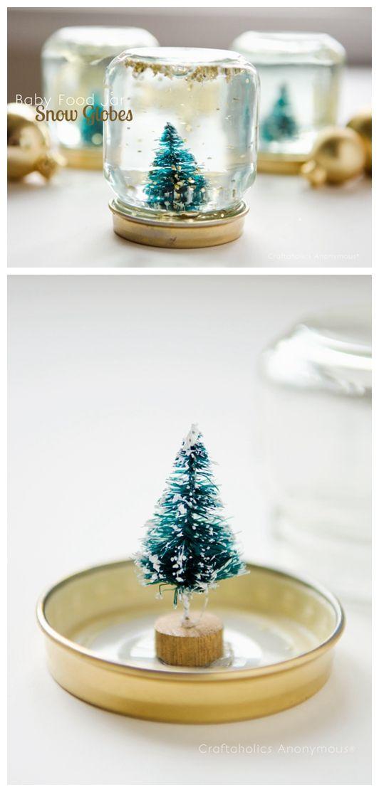 Baby Food Jar Snow Globes 1000+ images ab...