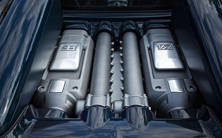 2018 Bugatti Veyron Engine Efficiency