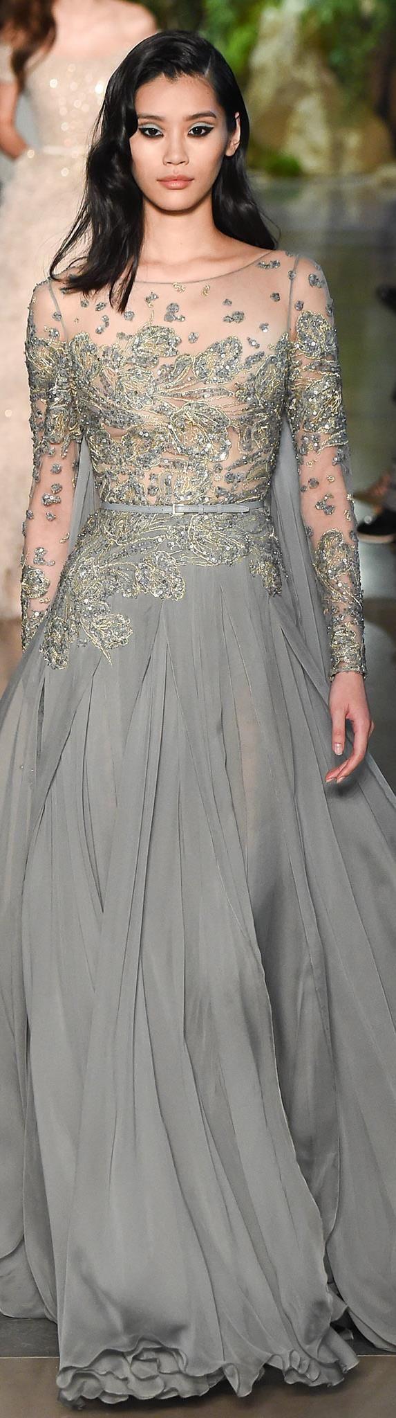 TD ❤️ Spring 2015 Couture Elie Saab Model Ming Xi (Elite)