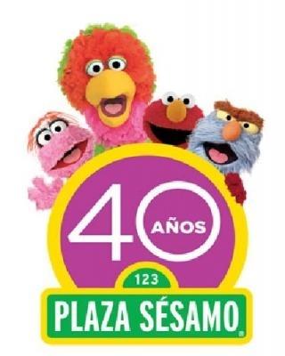 April 2013, Celebrating 40 years of Plaza Sesamo México (Sesame Street in Mexico).