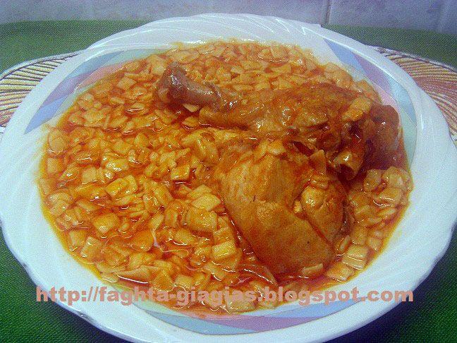 Τα φαγητά της γιαγιάς - Κοτόπουλο με χυλοπίτες στο φούρνο