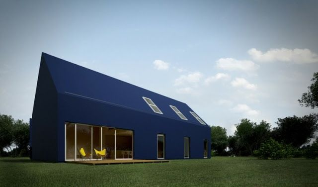 modern house facades for tow story house