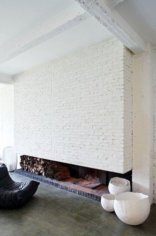 Wood Burning Fireplaces in Modern Interiors - Euro Style Home Blog - Modern Lighting - Design | Container Architecture | Scoop.it