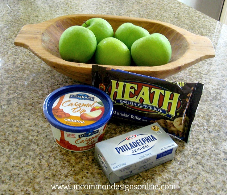 Toffee Caramel Apple Dip Recipe... { Tailgating Food } | Uncommon