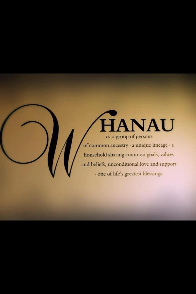 Whanau canvas