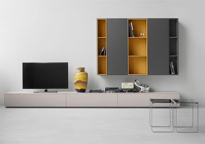 Elegant Modular Furniture by Studio Piure shelves delicate colors