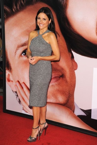 Julia Louis-Dreyfus Cocktail Dress - Julia Louis-Dreyfus Clothes Looks - StyleBistro