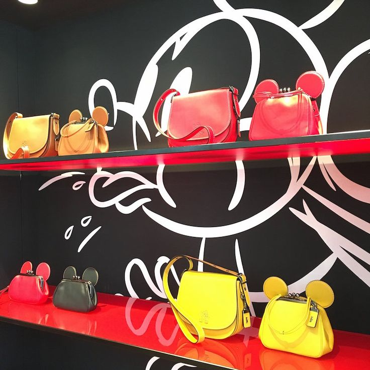 """Disney and Coach have announced a new partnership, """"Disney x Coach"""". This limited-edition collection is now available exclusively in the Coach store in Soho, New York and at Colette in Paris. On June 17, the collection will be released online at coach.com and in Coach stores around the world."""