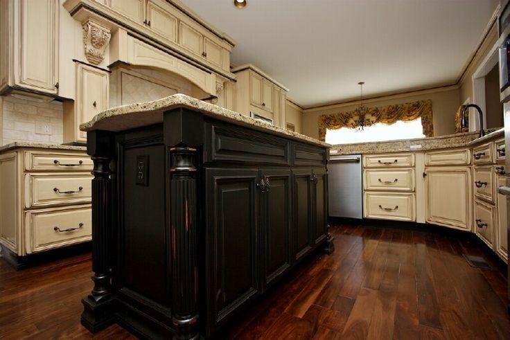 25 Best Black Distressed Cabinets Ideas On Pinterest