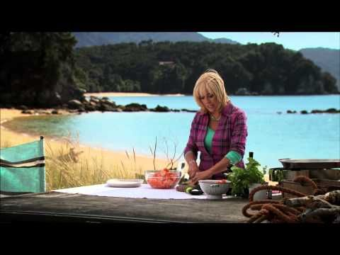 Watermelon and Avocado Salad - Annabel Langbein - YouTube