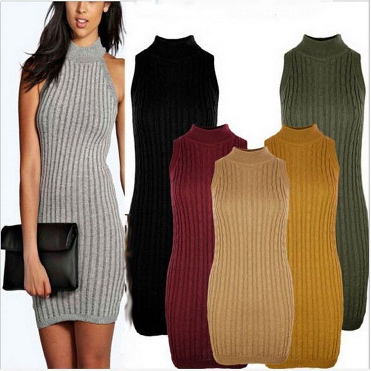 Casual Knit Dresses for Women