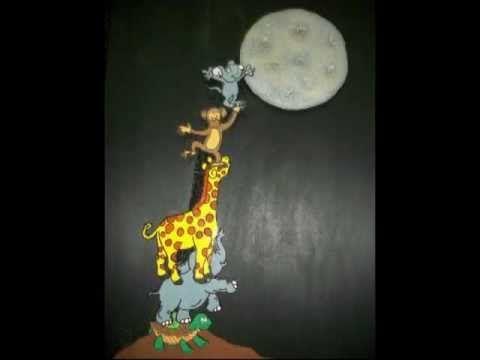A qué sabe la luna. Adaptación del cuento que habla de la cooperación.