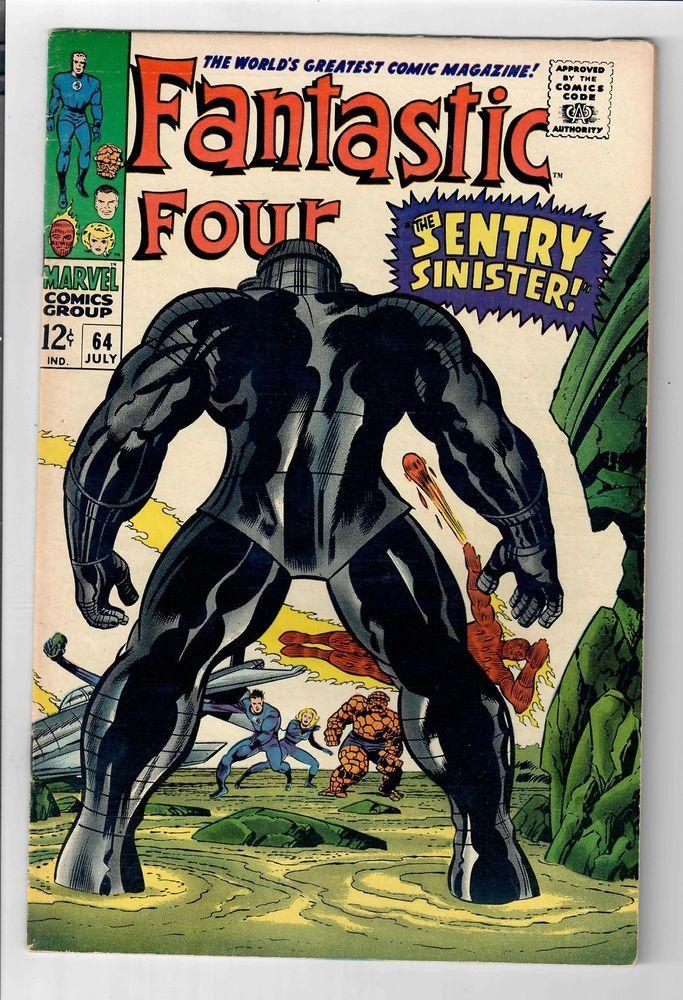 FANTASTIC FOUR (Vol. 1) #64 – Grade 7.0 – 1st Intergalactic Sentry  http://www.ebay.com/itm/FANTASTIC-FOUR-Vol-1-64-Grade-7-0-1st-Intergalactic-Sentry-/301980703299?roken=cUgayN&soutkn=KO8XD8