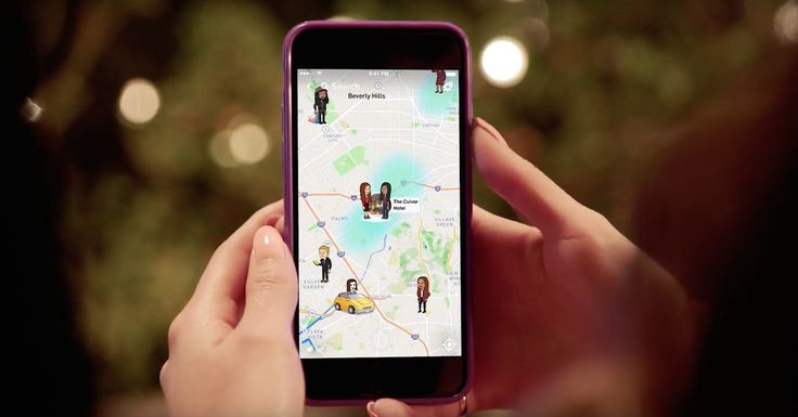 Snapchat's new Snap Map lets you share your location with friends