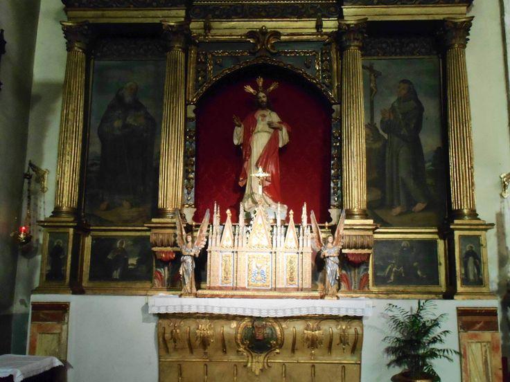 Detalle de altar del Sagrario. Lado del Evangelio