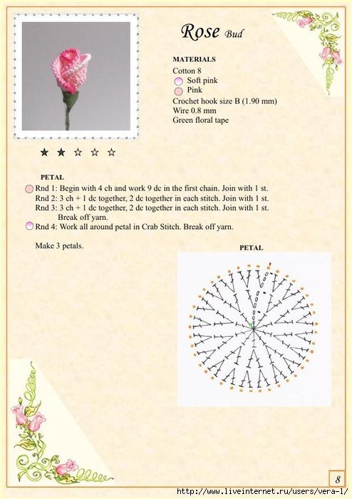 The Book of Crochet Flowers 1_13 (494x700, 223Kb)