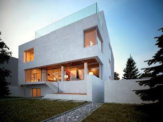 Dom Kostka Dom Modernistyczny