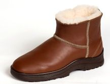 Flurry sheepskin & leather mid-calf winter boot