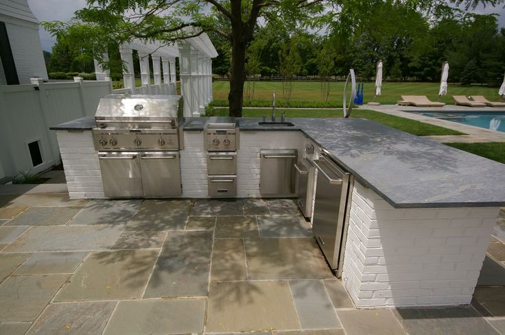 17 best images about outdoor kitchens on pinterest brick for Kitchen cabinets quakertown pa