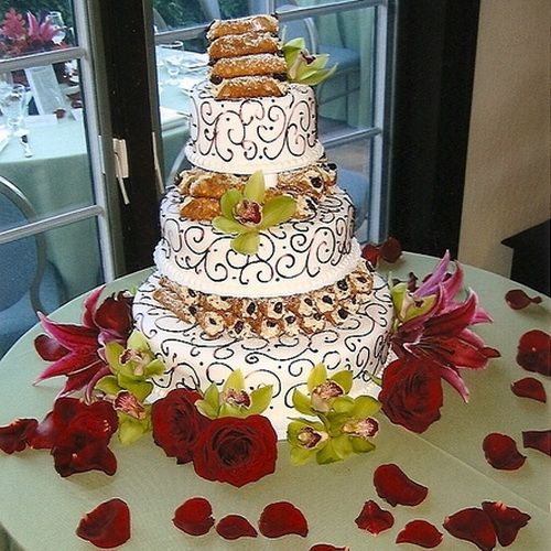 Italian Wedding Desserts: 13 Best Images About Italian Wedding Cake On Pinterest