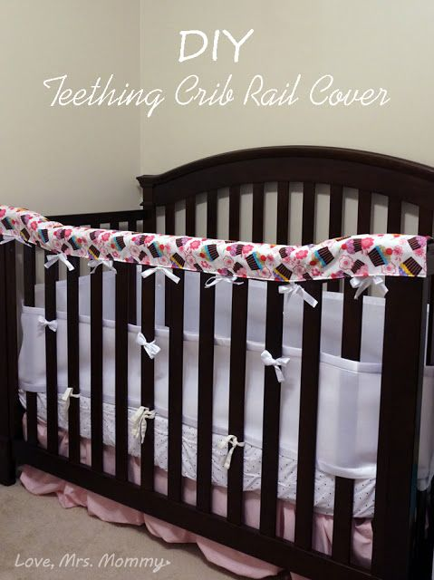 Love, Mrs. Mommy: DIY Teething Crib Rail Cover!