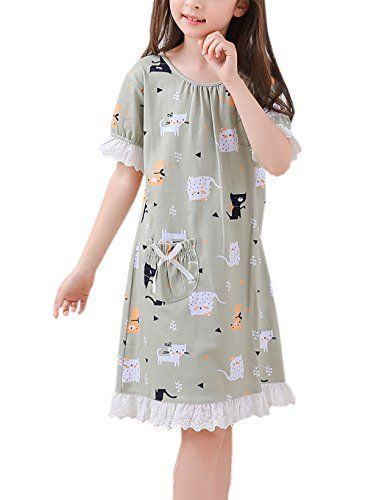 1bbcbce001 Zegoo Newest Christmas Style hot Sale Girls Nightgown