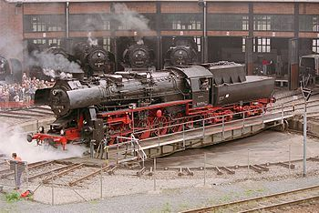 Lokschuppen – Wikipedia   – Eisenbahngebäude,die gute alte Zeit