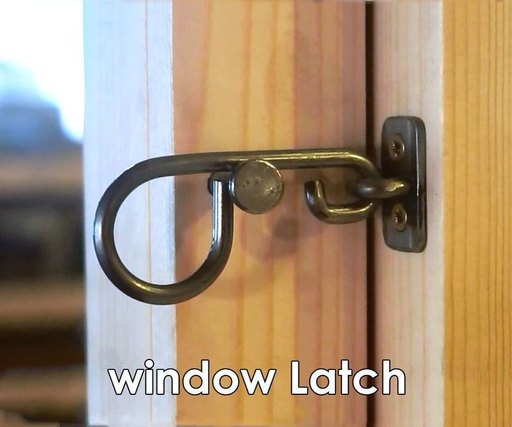 A super simple pair of window latches to firmly secure a hinged sash.Inspired by the traditional Scandinavian window latches, they take the essence of these window...