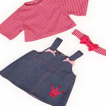 Bayer Design 46cm Jeans Dress with Shirt and Bandeau for Dolls (Red) Bayer Design 46cm Jeans Dress with Shirt and Bandeau for Dolls (Red) (Barcode EAN = 4003336846539). http://www.comparestoreprices.co.uk/december-2016-week-1-b/bayer-design-46cm-jeans-dress-with-shirt-and-bandeau-for-dolls-red-.asp