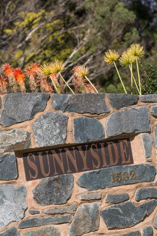 Lake Cooper Bluestone feature entrance wall  www.mawsons.com.au