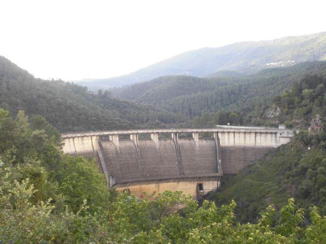 Le barrage de Sénéchas - Gard