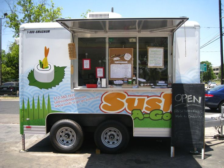 Sushi truck #Sushi #Sushimi