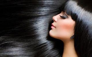 Tips kesehatan Dan kecantikan: Cara mudah yang Alami untuk  rambut hitam berkilau...