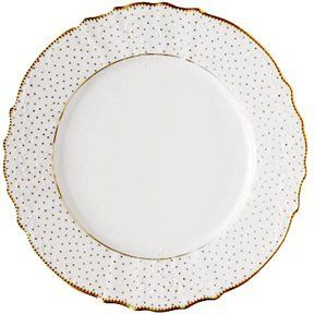 15 best images about dishing it out on pinterest for Gold polka dot china