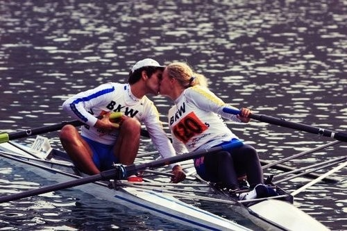 True rowing love: Kiss, True Row, My True Love, Row Stuff, Crew Rower Regatta, Crew Rowers Regatta, Crew Workout, Fit Row, Crew Life
