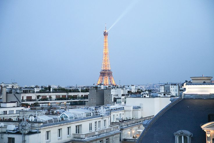 Hôtel Raphael | Farfelue places available for nighttime views of the Eiffel Tower pinned for the view