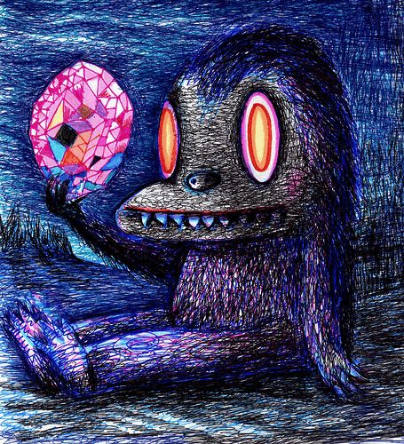 Gem Creature by Dain Fagerholm