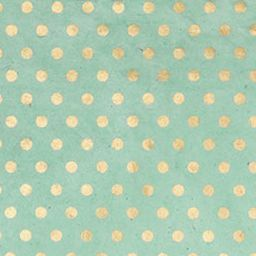 Gold Dots on Mint Fine Paper. Paper Source $6.50
