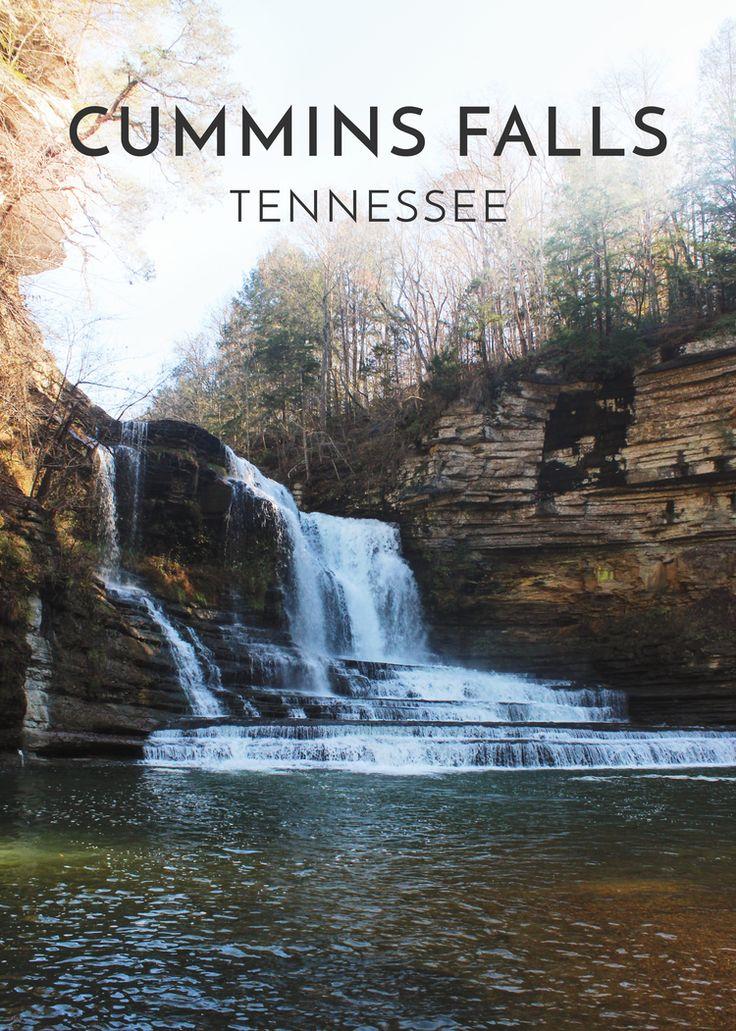 Tennessee: Cummins Falls State Park — Maddily