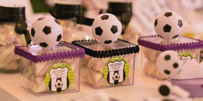 Soccer Themed Birthday Party