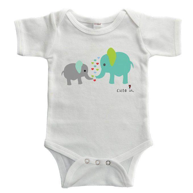 60 best baby boy elephant clothing images on pinterest elephant cute in elephants baby bodysuit 0 3 months negle Gallery