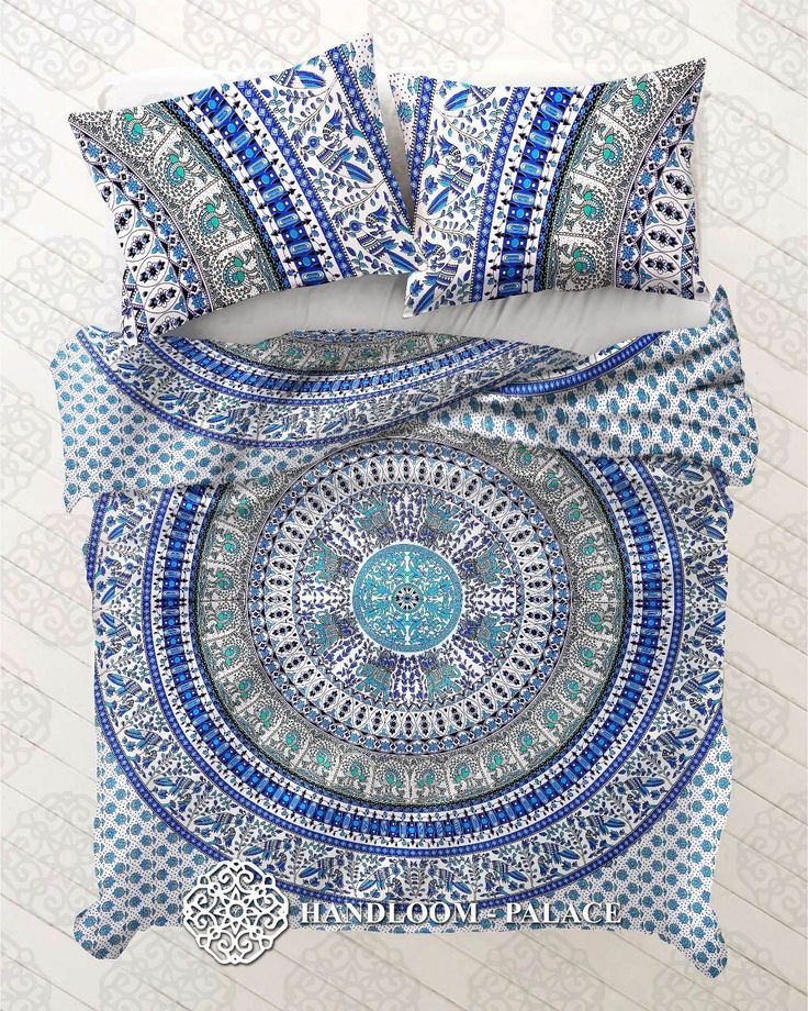 Indian Mandala Cotton Donna Cover Tapestry Donna Ethnic King Size Bed Cover Art…