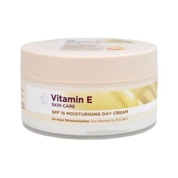 Vitamin E Spf15 Moisturising Day Cream 100ml Superdrug 4 50 In 2020 Moisturizer Cream Vitamin E Vitamins
