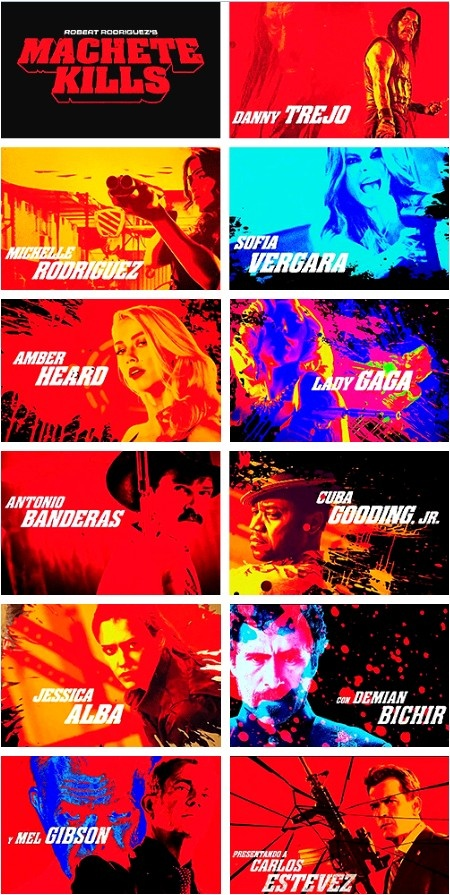 'Machete Kills' from Robert Rodriguez, out September 2013