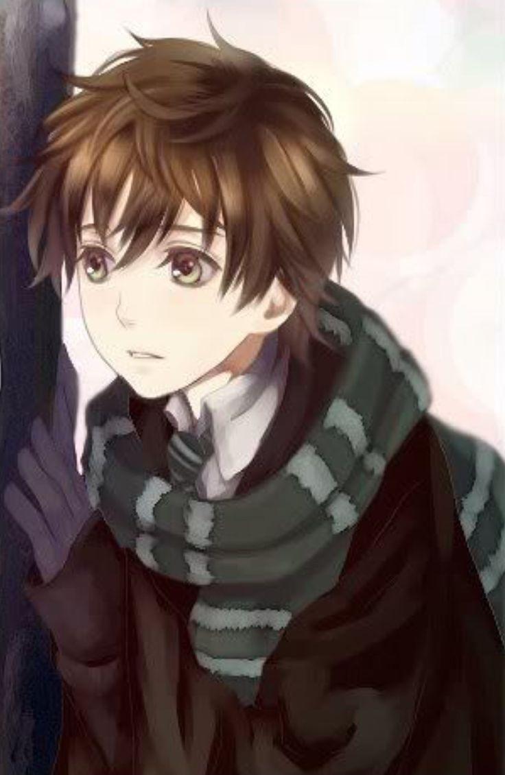 Anime Guy Light Brown Hair Www Pixshark Com Images