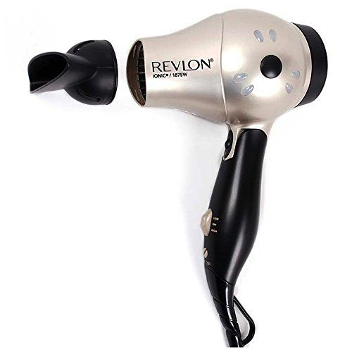 Special Offers - Revlon 1875 Watt Fast Dry Compact Hair Dryer with Ionic Select Technolgy Folding Handle for Easy Convenience Worldwide Dual Voltage Bonus FREE Hair Pins Included For Sale - In stock & Free Shipping. You can save more money! Check It (November 26 2016 at 01:01PM) >> http://hairdryerusa.net/revlon-1875-watt-fast-dry-compact-hair-dryer-with-ionic-select-technolgy-folding-handle-for-easy-convenience-worldwide-dual-voltage-bonus-free-hair-pins-included-for-sale/