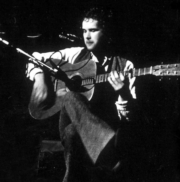Mr John Martyn without a Martin guitar.