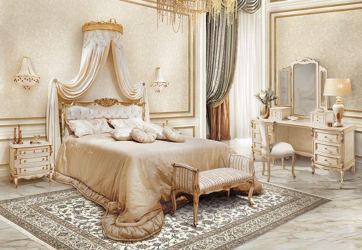 SCHUMANN Luxury elegant italian bedroom furniture